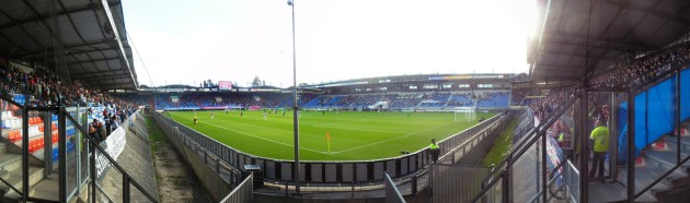 Panorama Willem II stadion